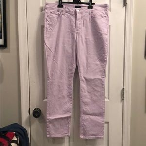 NYDJ lavender skinny pants